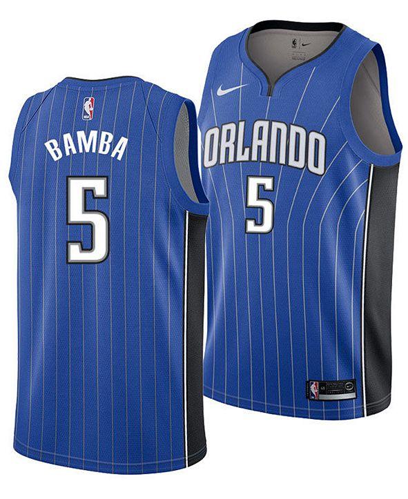 Nike Men's Mohamed Bamba Orlando Magic Icon Swingman Jersey
