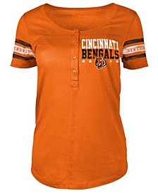 Women's Cincinnati Bengals Button Down T-Shirt