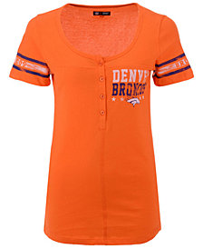 5th & Ocean Women's Denver Broncos Button Down T-Shirt