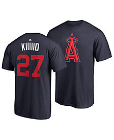 Majestic Men's Mike Trout Los Angeles Angels Player's Weekend Name and Number T-Shirt