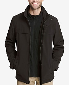 Dockers Men's Soft Shell Car Coat