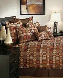 Sherry Kline Metro Spice 3-Piece Comforter Set, Queen