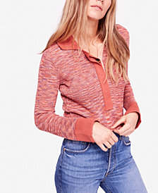 Free People Making Memories Henley Sweater