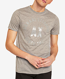 A|X Armani Exchange Men's Logo Print T-Shirt