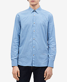 Calvin Klein Men's Gingham Check Shirt