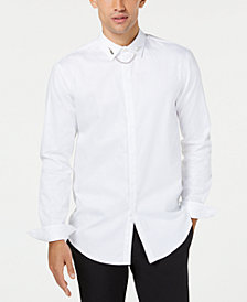 I.N.C. Men's Bolt Chain Shirt, Created for Macy's