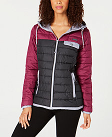 Columbia Mountainside Colorblocked Insulated Hooded Jacket