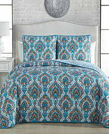 Everly 3 Pc King Quilt Set