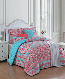 Cass 7 Pc King Comforter Set