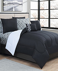 Avondale Manor Damask Reversible Comforter Se