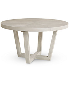 Aspen Round Pedestal Table, Created for Macy's