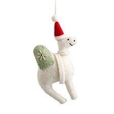 Global Goods Partners Embellished Felt Camel Ornament