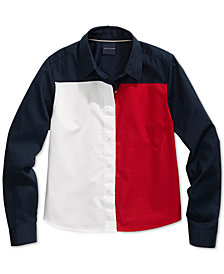 Tommy Hilfiger Women's Color Block Flag Top from The Adaptive Collection