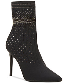 Jessica Simpson Lytona Knit Sock Booties