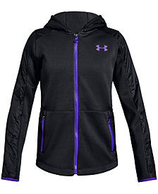 Under Armour Big Girls Hooded Jacket