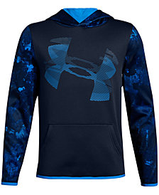 Under Armour Big Boys Highlight Printed Hoodie