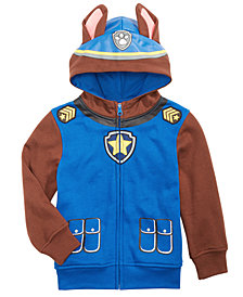 Nickelodeon Little Boys Paw Patrol Mask Hoodie