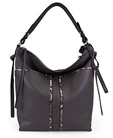 Skyler Leather Bucket Bag