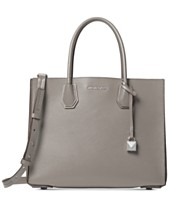 58e4e841577e MICHAEL Michael Kors Mercer Accordion Pebble Leather Tote