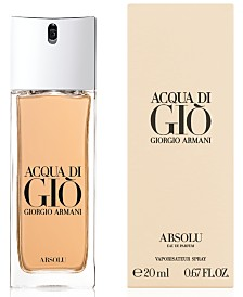 Giorgio Armani Men's Acqua di Giò Absolu Travel Spray, 0.67-oz.