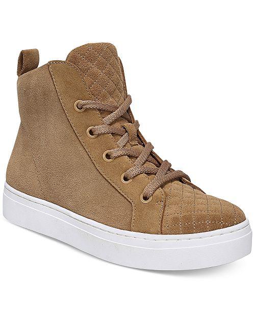 60cdaa2c28 Naturalizer Carrigan High-Top Sneakers   Reviews - Athletic Shoes ...