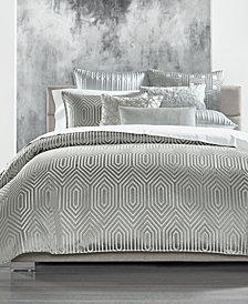Hotel Collection Lithos King Duvet Cover, Created for Macy's