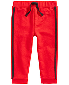 First Impressions Toddler Boys Side-Stripe Jogger Pants, Created for Macy's