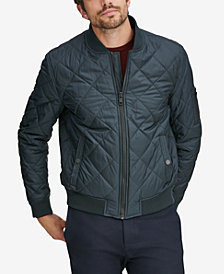 Marc New York Men's Fletcher Lightweight Quilted Bomber Jacket
