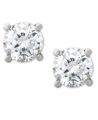 Certified Diamond Stud Earrings (3/4 ct. t.w.) in Platinum