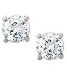 Certified Diamond Stud Earrings (1-1/2 ct. t.w.) in Platinum