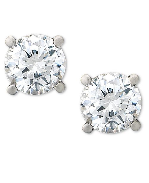 Macy's Certified Diamond Stud Earrings (1-1/2 ct. t.w.) in Platinum