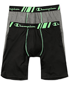 Champion Men's 2-Pk. Stretch Boxers