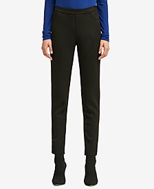 DKNY Faux-Suede Pull-On Pant, Created for Macy's