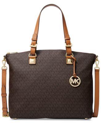 michael kors jet set item multi function satchel handbags rh macys com