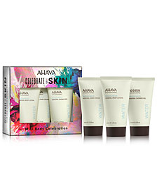 Ahava 3-Pc. Mini Body Celebration Gift Set