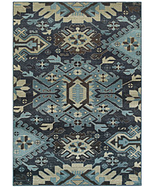 Oriental Weavers Linden 4302A Navy/Blue Area Rug