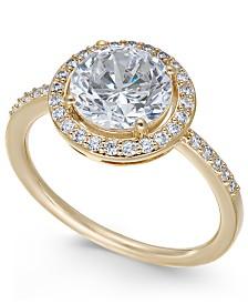 Danori Round Crystal Ring, Created for Macy's