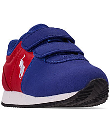 Polo Ralph Lauren Toddler Boys' Brightwood EZ Casual Sneakers from Finish Line