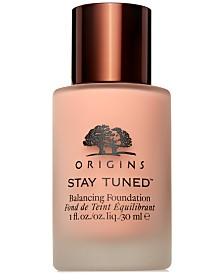 Origins Stay Tuned Balancing Flawless Foundation