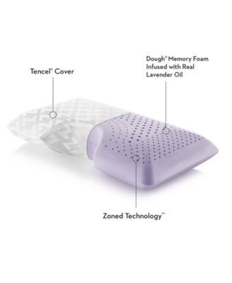 Malouf Shoulder Lavender Memory Foam Pillow