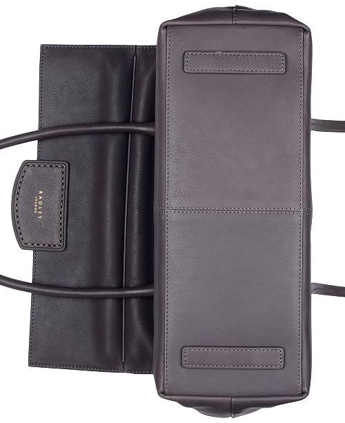6398ea244a8e Radley London Burnham Beeches Flap Leather Shoulder Bag & Reviews ...