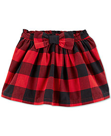 Carter's Toddler Girls Buffalo-Check Skirt