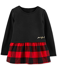 Carter's Toddler Girls Buffalo-Check Tunic