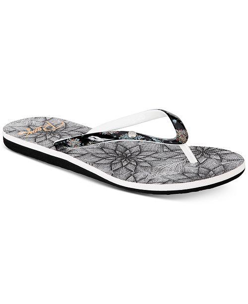 02d4c76b944 Roxy Portofino II Flip-flop Sandals   Reviews - Sandals   Flip Flops ...