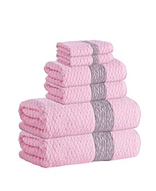 Enchante Home Anton 6-Pc. Turkish Cotton Towel Set