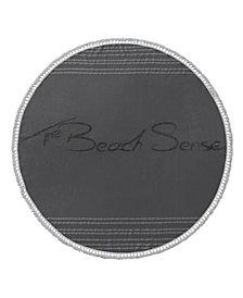 Beach Sense Round Turkish Cotton Beach Towel