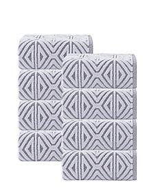 Enchante Home Glamour 8-Pc. Turkish Cotton Hand Towel Set