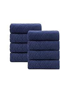 Enchante Home Gracious 8-Pc. Hand Towels Turkish Cotton Towel Set