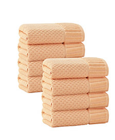 Enchante Home Timaru 8-Pc. Hand Towels Turkish Cotton Towel Set