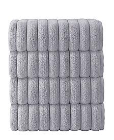 Enchante Home Vague 4-Pc. Bath Towels Turkish Cotton Towel Set